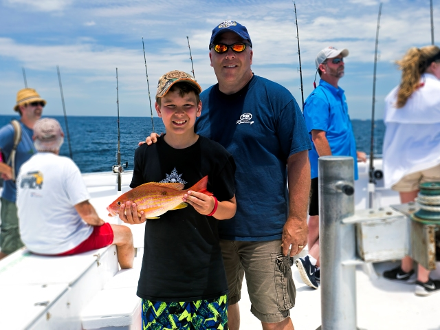 snapper and grouper charter fishing destin fl